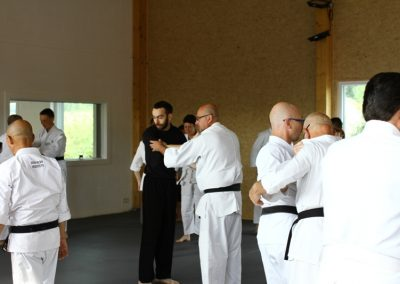 Inauguration du Jiyuseikan Dojo à Paliseul